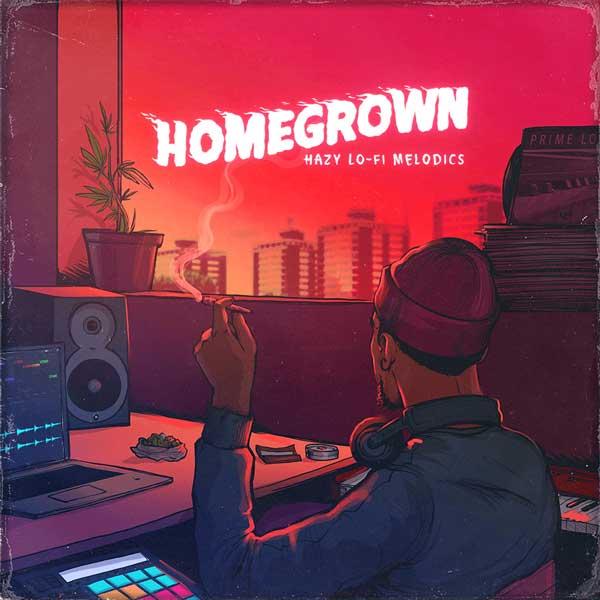 سمپل Prime Loops Homegrown Hazy Lo-Fi Melodic