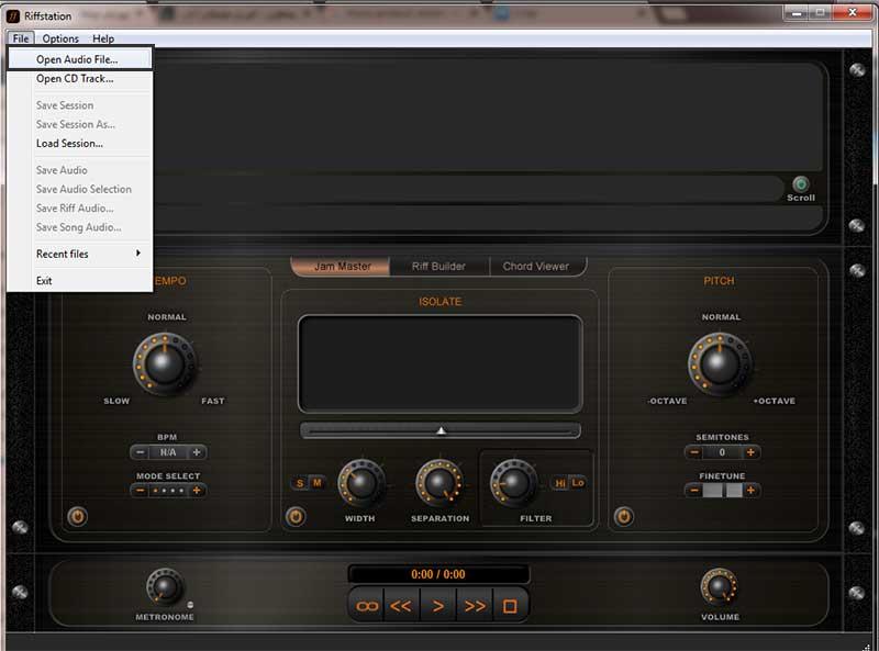 نرم افزار Riffstation | آکورد گیری گیتار | آکورد گیری پیانو