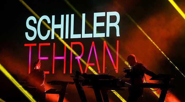 کنسرت موسیقی بی کلام خارجی گروه شیلر در تهران