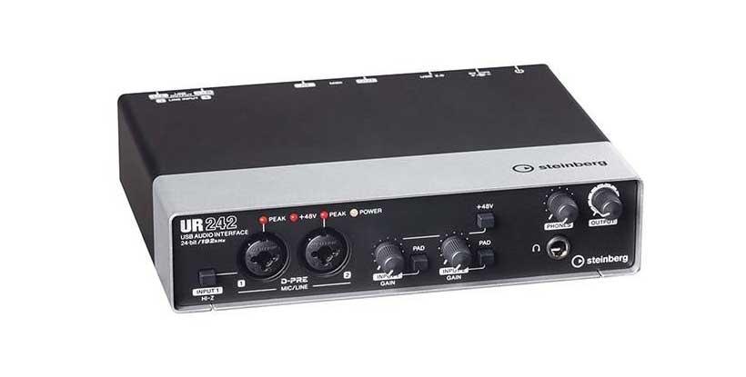 خرید کارت صدا استودیو اشتاینبرگ مدل UR-242
