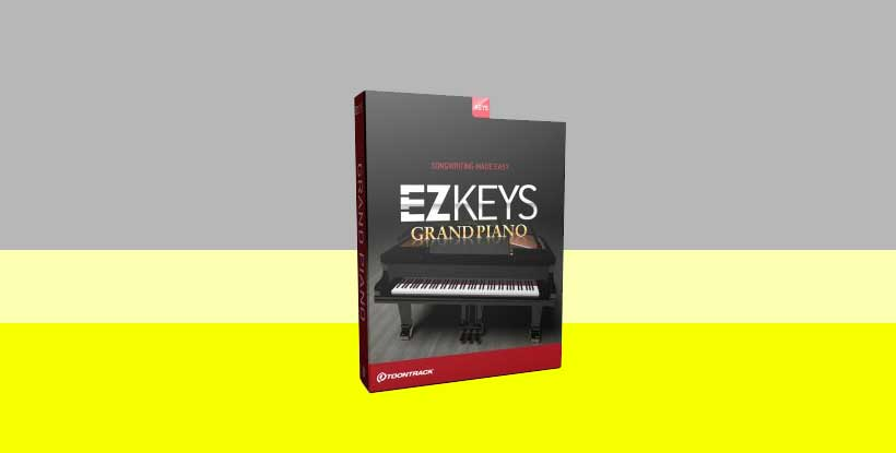 وی اس تی ToonTrack EZkeys Grand Piano