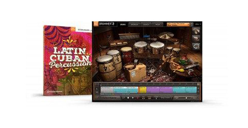 پریست ایزی درامر Toontrack Latin Cuban Percussion