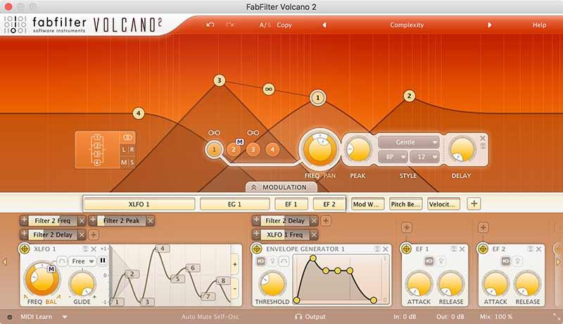 دانلود پلاگین فب فیلتر ( Fabfilter Volcano 2 )