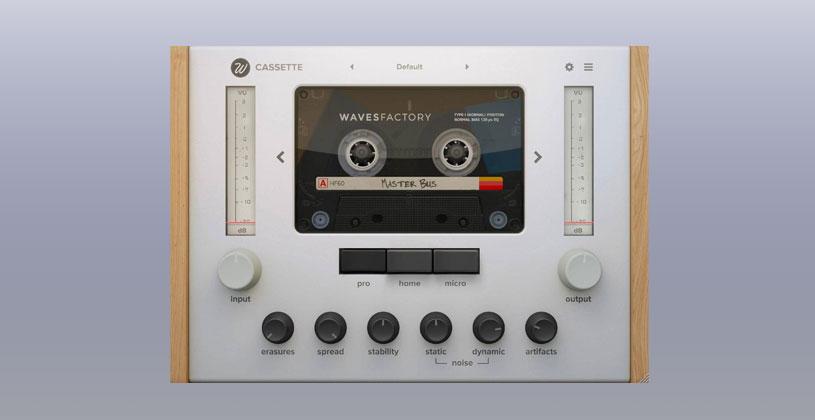 دانلود پلاگین Wavesfactory Cassette